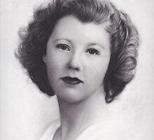 Vintage Beautiful Lady by brittnideweese