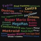 NES Games by AllTheRooks