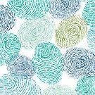 Fingerprints pattern by oksancia