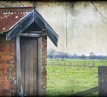 A little country OutHouse by Clare Colins