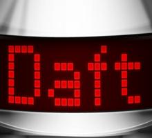 Daft Electro Helmet Sticker