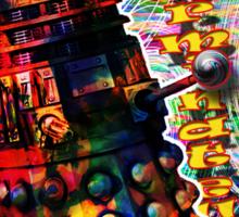 Dalek - Exterminate! by Mark Compton Sticker