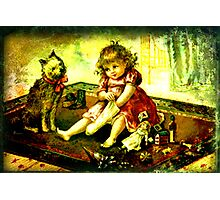 A CHILDS CHRISTMAS Photographic Print