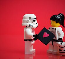 Storm Trooper Lego Love by AbsoluteLegend