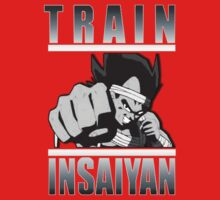 train insaiyan VEGETA (gray) by KingKoko