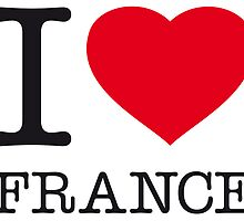 I ♥ FRANCE by eyesblau