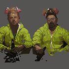 Breaking Bad in 'Low Poly' by Wesley Klein