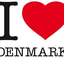 I ♥ DENMARK by eyesblau