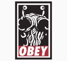 Flying Spaghetti Monster Obey Parody by yinon