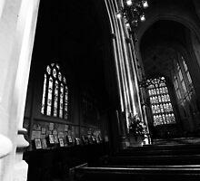 Bath Abbey, Arches by JackDowling