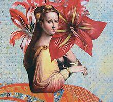 Lilies by Kanchan Mahon