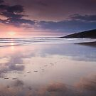Dunraven Bay Reflection by Paul Croxford