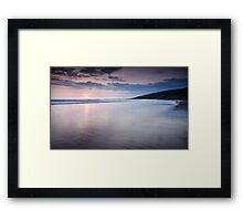 Dunraven Bay Reflection 03 Framed Print