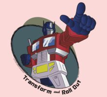 Optimus Prime - Transform and Roll Out by NDVs