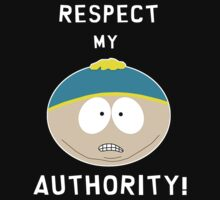 Respect my authority (white) by Calliste