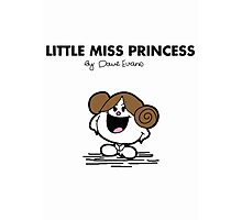 Little Miss Princess Photographic Print