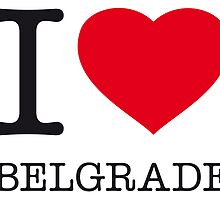 I ♥ BELGRADE by eyesblau