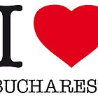 I ♥ BUCHAREST by eyesblau