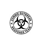 ZOMBIE OUTBREAK RESPONSE TEAM by thatstickerguy