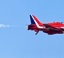 Royal Air Force Red Arrows at RAF Waddington Airshow by Speedy78