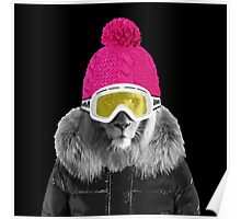LION WINTER SPORTS Poster