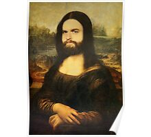 Mona-Lisa Galifianakis Poster
