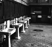 Providence RR Station Barber Shop by pmreed