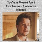 Gary Oldman as 'Norman Stansfield' on Mozart by hungrypeople
