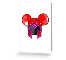 Mouster of Magnetism Greeting Card
