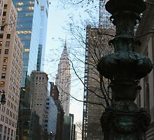 Chrysler Building by MBoothny