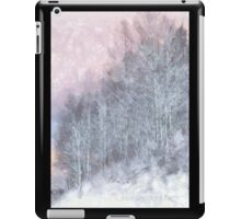 Winter Trees On A Hillside iPad Case/Skin