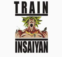 Train Insaiyan - Broly by irig0ld
