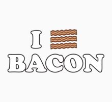 I Love Bacon! Kids Clothes