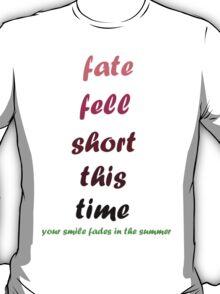 blink-182 - Fate Fell Short T-Shirt