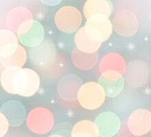 Pastel Bokeh Lights II by afeimages
