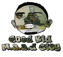 Kendrick Lamar Good Kid M.a.a.d City by bhm57