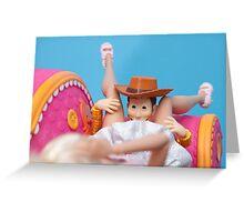 Woody Muff Diving Greeting Card