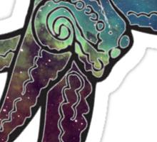 Nebula Octopus 1 Sticker
