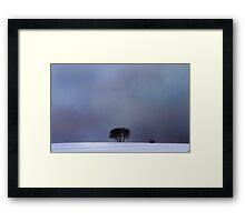 Good Evening Framed Print
