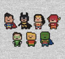8bit Original JLA by nonsoloart