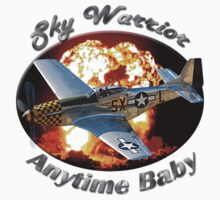 P-51 Mustang Sky Warrior by hotcarshirts