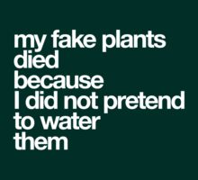 my fake plants by quotees