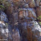 Faces in the Cliffs by Mariaan M Krog Fine Art Portfolio