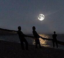 Moon Shadows  by Eric Kempson