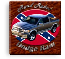 Dodge Ram Truck Road Rebel Canvas Print
