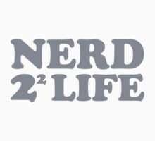 Nerd 4 Life Math Nerd Humor Pun Shirt by scienceispun