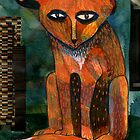Funny Old Fox by MicheleBrownArt