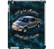 Dodge Ram Truck Night Rider iPad Case/Skin