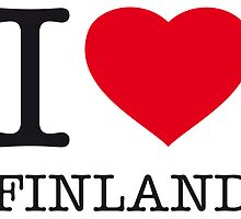 I ♥ FINLAND by eyesblau