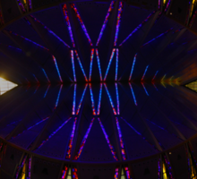 Ceiling of the United States Air Force Academy Chapel Sticker